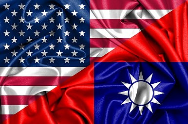 Featured Image Credit: Waving U.S. and Taiwan flag via Shutterstock.com